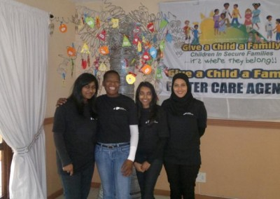 Staff from Coastal Accounting posing with the Give a Child a Family Tree