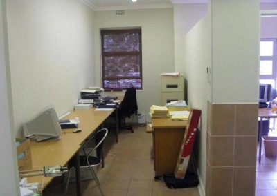 Secretarial area being completed