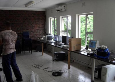 Further images of the new staff work area