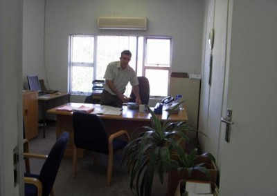 Mr Whitaker in his old office