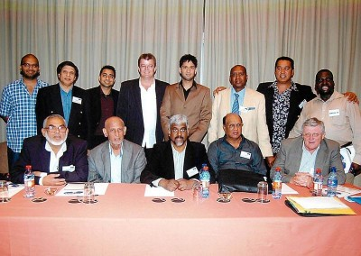 Mr Imraan Lockhat together with the board of the KZNMCC