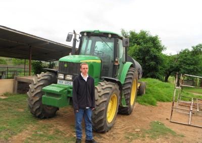 Daniel checking machinery