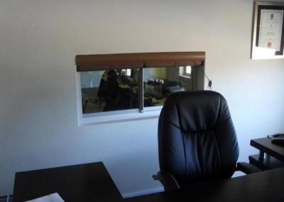 Mr Lockhat's new office